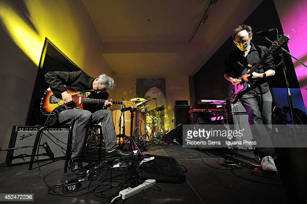American musicians and authors Marc Ribot and Arto Lindsay performs their concert togheter at International Museum of Ceramics for the Blu Streets...