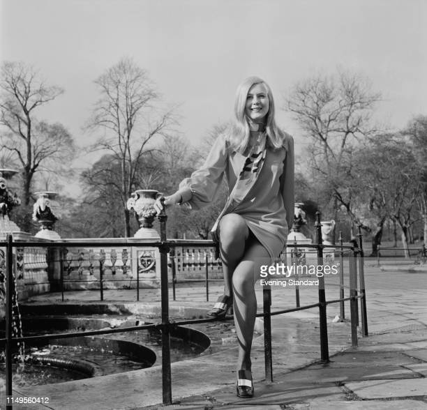 American NASA engineer and mathematician Frances 'Poppy' Northcutt in London UK 24th February 1970