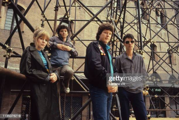 American new wave band Talking Heads Bologna Italy 1982