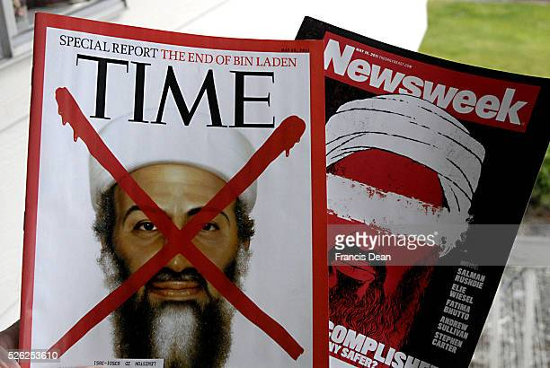 American News magazine Time and Newsweek Osama ben Laden dean news on recently american issues 7 April 2011
