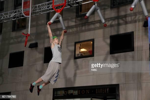 TODAY American Ninja Warrior on the Plaza Pictured Jamie Rahn on Monday July 24 2017