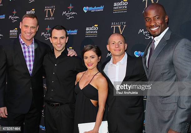 American Ninja Warrior personalities Matt Iseman Joe Moravsky Kacy Catanzaro Brent Steffensen and Akbar Gbajabiamila attend the 3rd annual Reality TV...