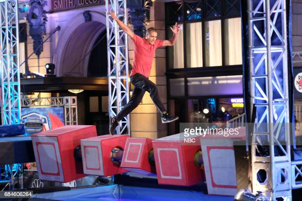 SPECIAL 'American Ninja Warrior' Pictured Ashton Eaton