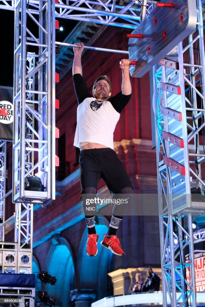 SPECIAL -- 'American Ninja Warrior' -- Pictured: Stephen Amell --
