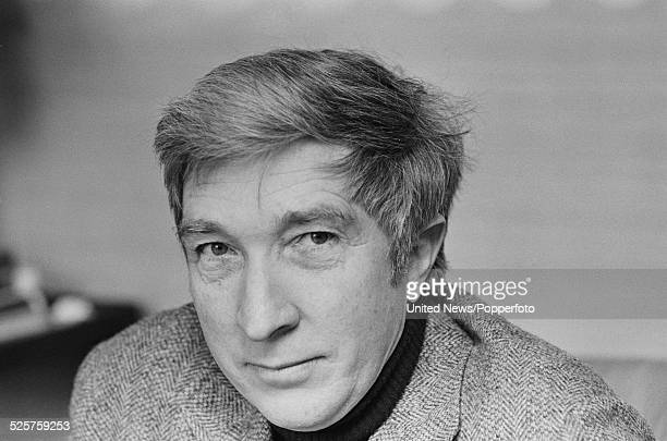 American novelist and critic John Updike pictured in London on 22nd March 1979