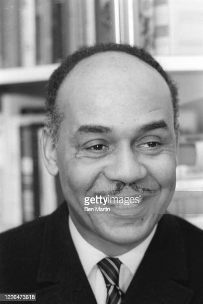American novelist, literary critic, and scholar Ralph Ellison , January 1963.
