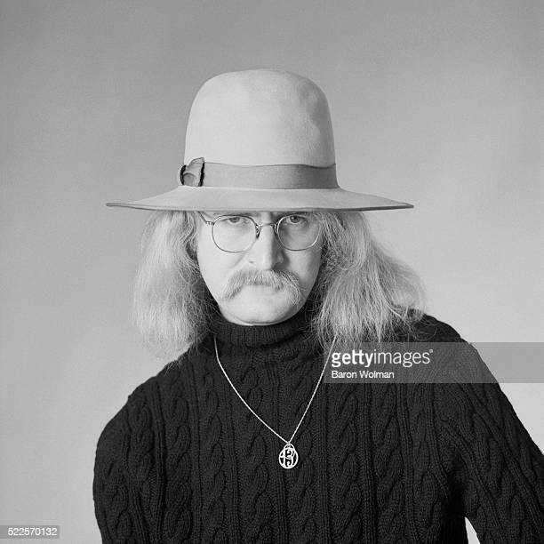 American novelist poet and short story writer Richard Brautigan photographed for Esquire magazine 1968