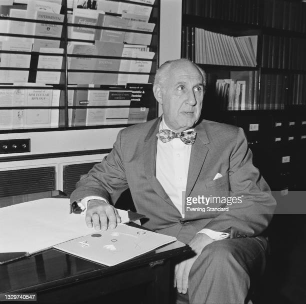 American obstetrician and gynaecologist Dr Alan Frank Guttmacher , UK, 23rd November 1964. He is Chairman of the Medical Committee of the...