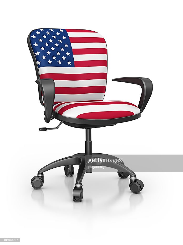 American Office Chair : Stock Photo