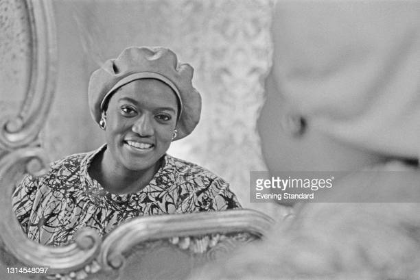 American opera singer Jessye Norman , UK, 14th September 1973.