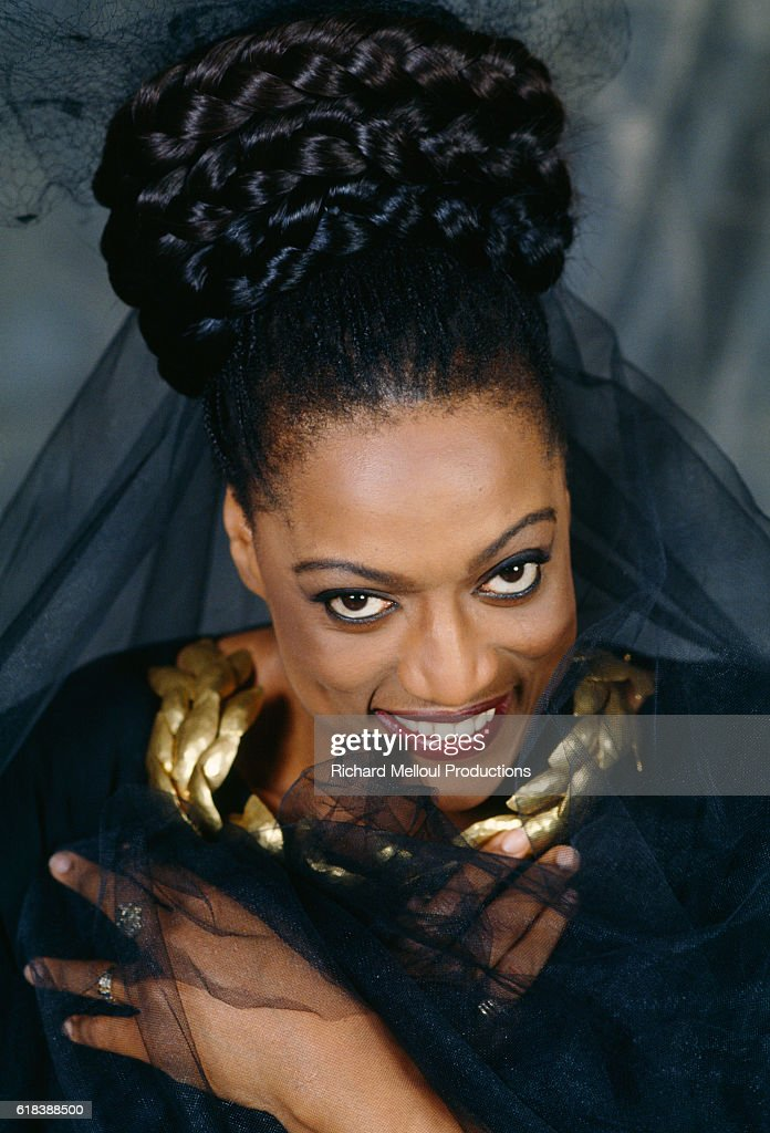 American Operatic Singer Jessye Norman : Photo d'actualité
