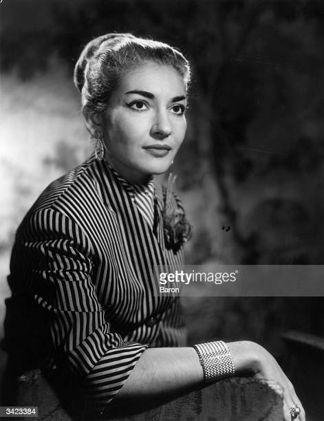 American operatic soprano Maria Callas