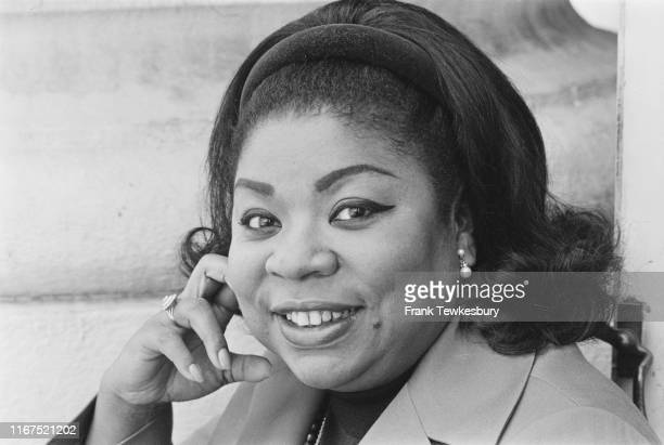 American operatic soprano Martina Arroyo UK 25th June 1976