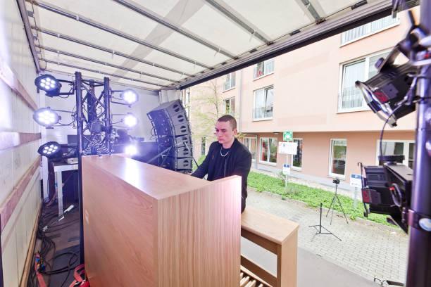 DEU: Cameron Carpenter Performs In Berlin