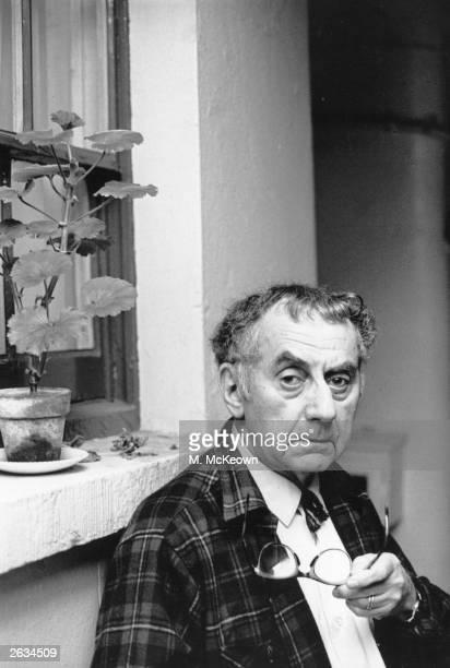 American painter, photographer and film-maker Man Ray, born Emanuel Rudnitsky .