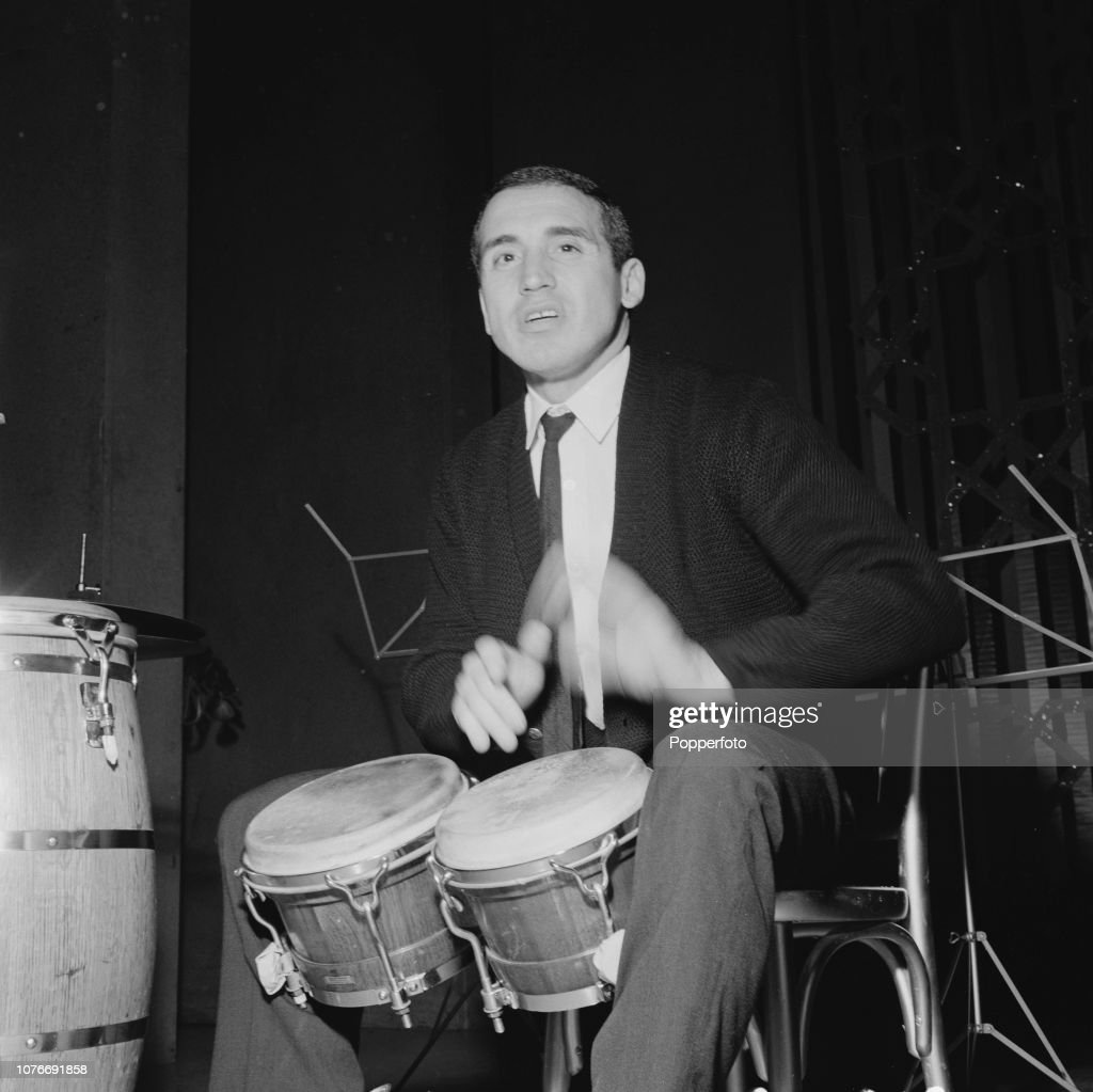 Percussionist Jack Costanzo : News Photo