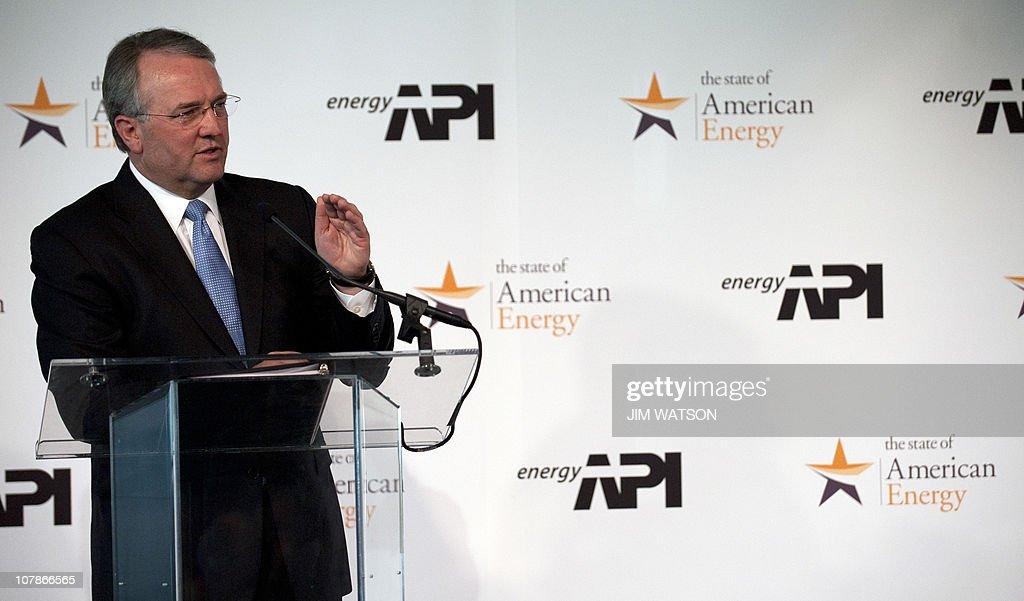 American Petroleum Institute President a : ニュース写真
