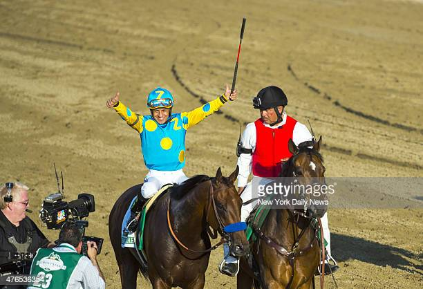 American Pharoah wins 147th running of the Belmont Stakes Elmont NY Saturday June 6 2015