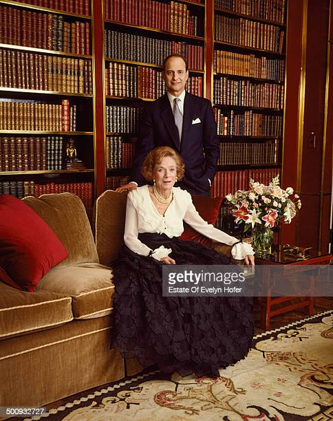 American philanthropist and socialite Brooke Astor New York 1995