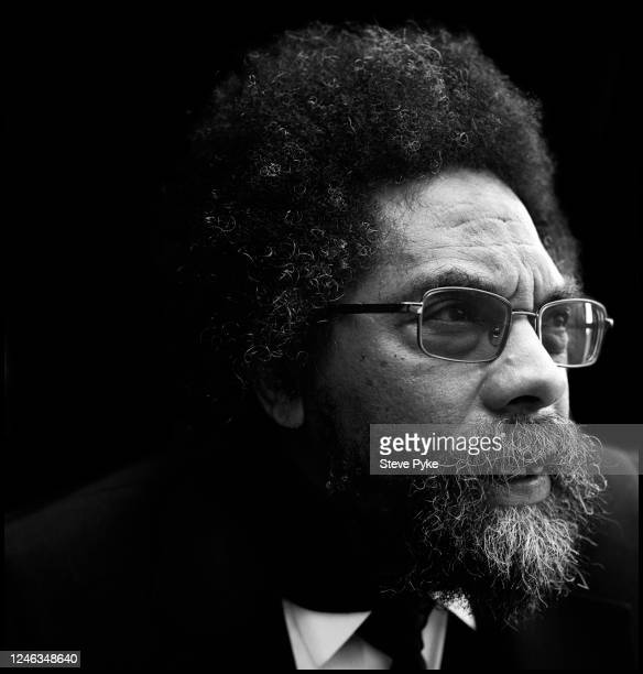 American philosopher and political activist Cornel West at Woodlawn Cemetery New York City 24th July 2012