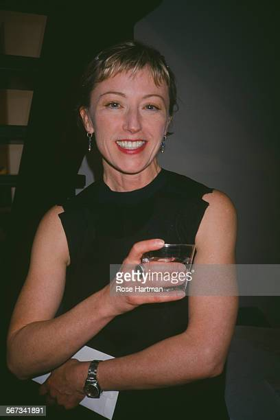 American photographer and film director Cindy Sherman circa 1995