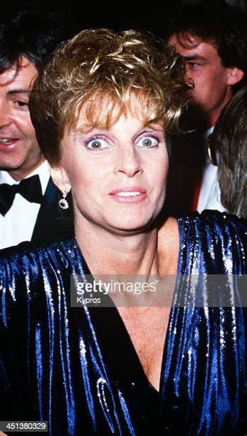 American photographer and musician Linda McCartney circa 1990