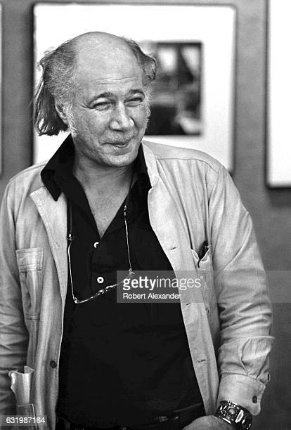 American photographer and photojournalist Eddie Adams talks with students at Daytona Beach Community College during a 1984 photography workshop at...