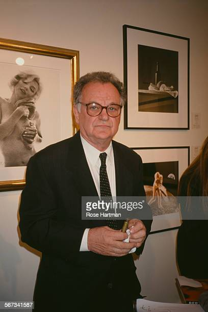 American photographer Bert Stern at an exhibition for the Association of International Photography Art Dealers circa 2000