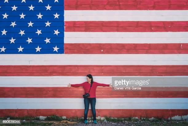 American photographer girl