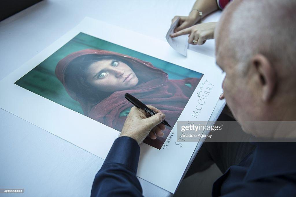 Steve McCurry photography exhibition in Ankara : News Photo