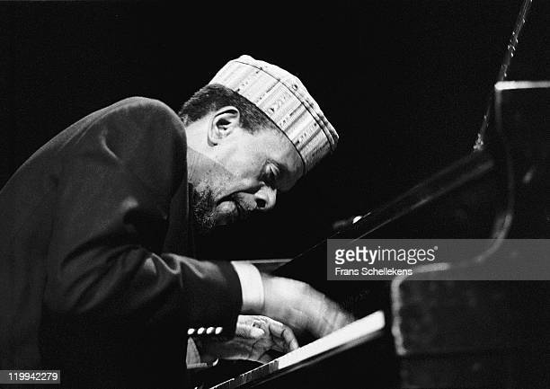 American pianist and composer Horace Tapscott plays at the BIMhuis in Amsterdam, Netherlands on 11th October 1991.