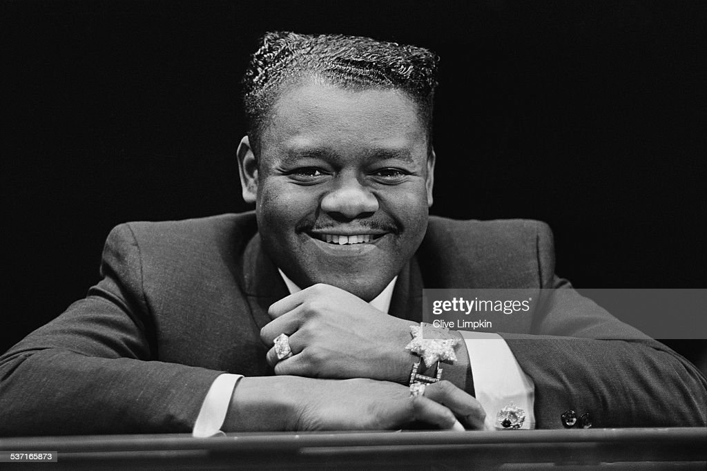 Fats Domino : News Photo