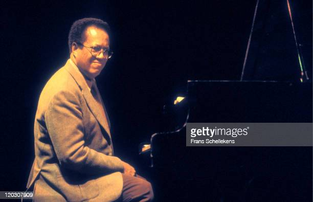 American pianist Cedar Walton playing at the BIMhuis in Amsterdam, Netherlands on 2nd April 1992.