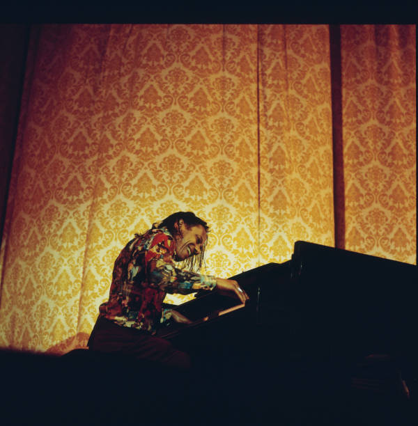 Horace Silver Perfoms At Newport Wall Art
