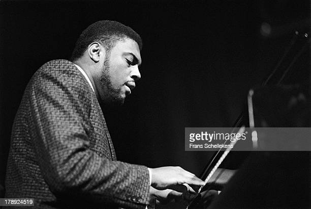 American pianist Mulgrew Miller performs live on stage at the Tuchinsky in Amsterdam, Netherlands on 30th October 1989.