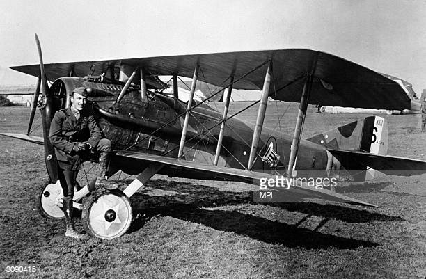 American pilot and fighter ace Eddie Rickenbacker in later life he went into business with General Motors and Eastern Airlines
