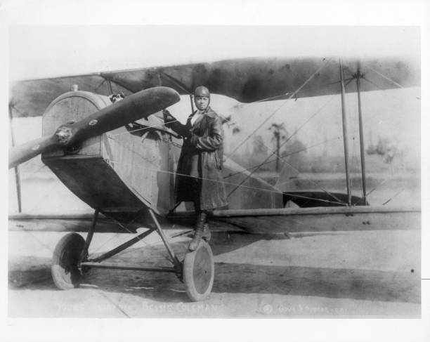 FRA: 15th June 1921 - Bessie Coleman Becomes First Black Woman and First Native American Licensed Pilot
