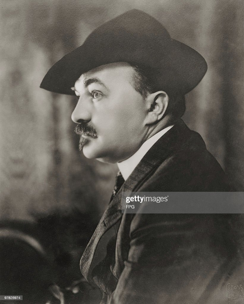 American Playwright Paul Armstrong Circa 1915 His Best Known Work Was  U0027Alias Jimmy Valentineu0027