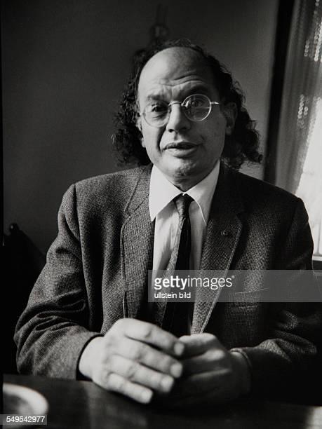 American poet Allen Ginsberg