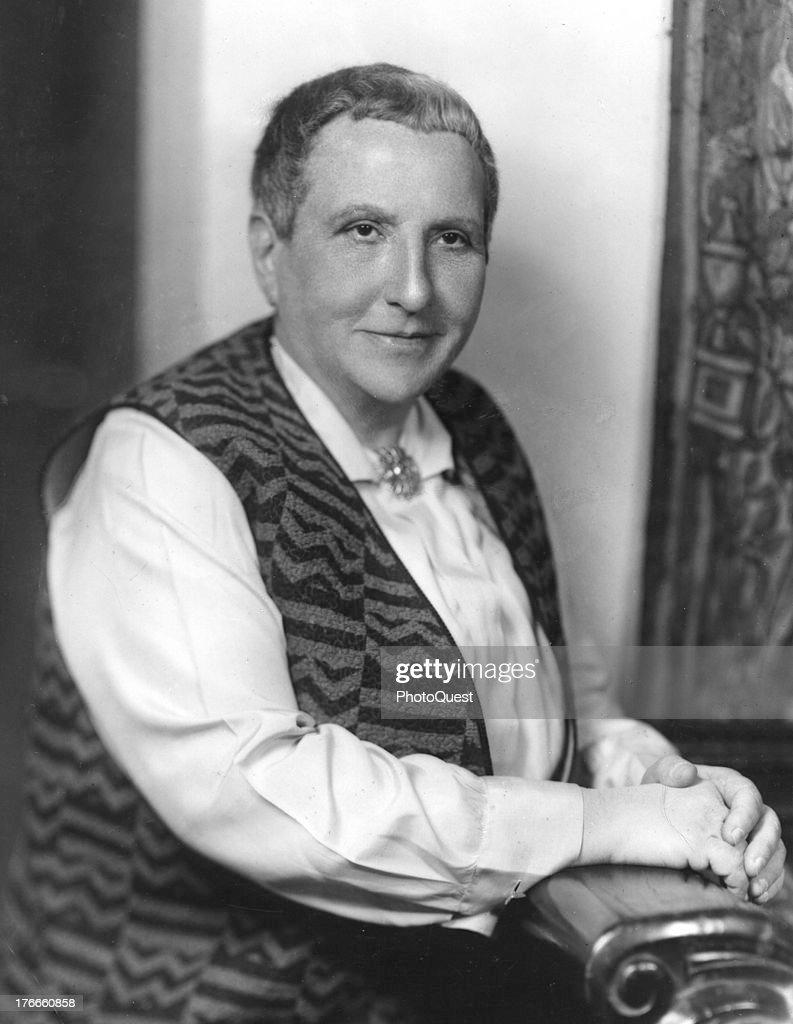 Gertrude Stein : News Photo
