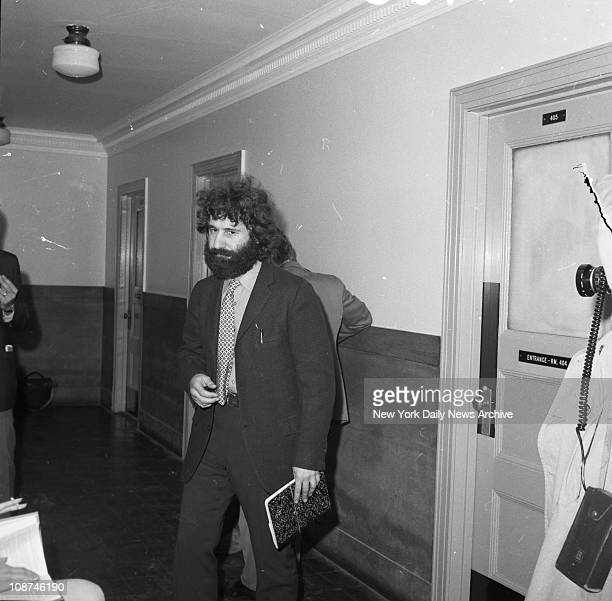 American police officer Frank Serpico arrives at court to give testimony in police corruption trial Brooklyn New York May 11 1971