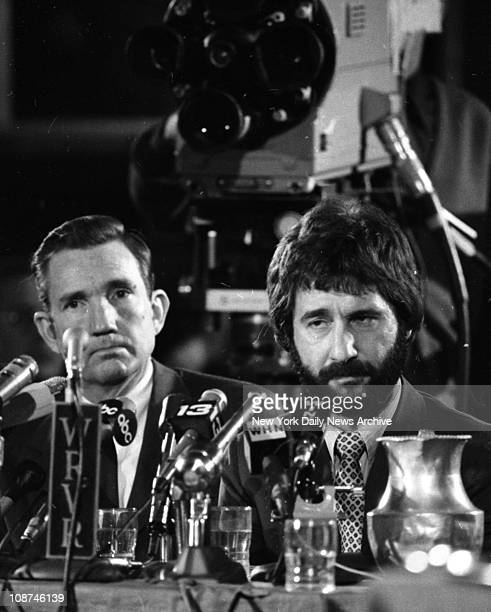American police officer Frank Serpico testifies before the Knapp Commission on widespread corruption on the force New York New York December 15 1971...