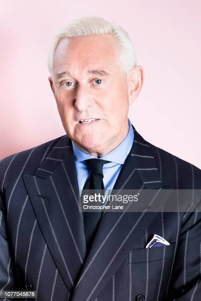 American political consultant Roger Stone is photographed for Newsweek on May 11 2018 in New York City