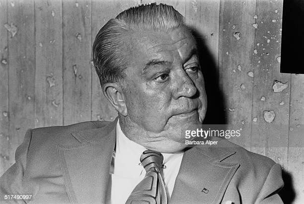 American politician and Boston City Councillor Albert Leo 'Dapper' O'Neil Boston Massachusetts 24th August 1978