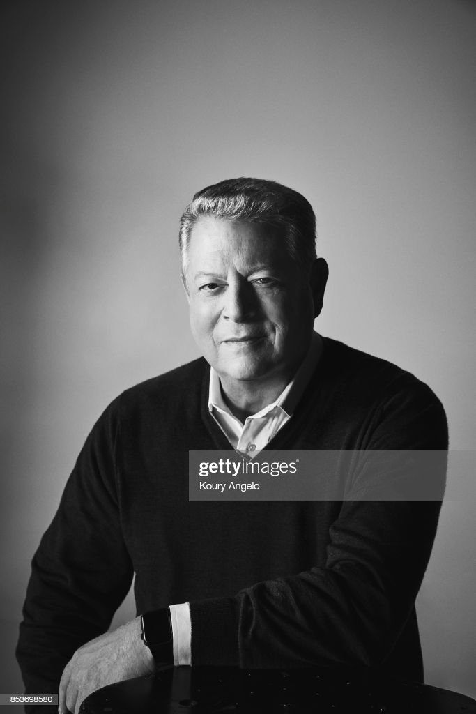 American politician and environmentalist Al Gore is photographed for The Hollywood Reporter on January 2, 2017 in Los Angeles, California.