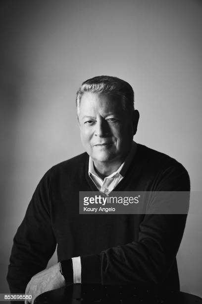 American politician and environmentalist Al Gore is photographed for The Hollywood Reporter on January 2 2017 in Los Angeles California