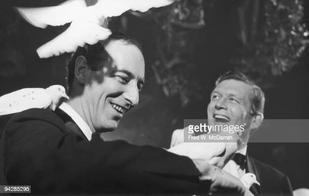 American politician and Mayor of New York John V Lindsay and Parks Commissioner and soontobe director of the Metropolitan Museum of Art Thomas Hoving...