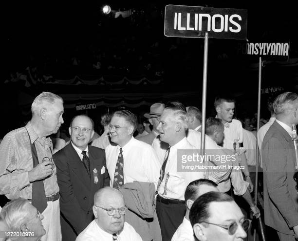 American politician Charles W. Brooks who was the Republican U.S. Senator from Illinois from 1940 to 1949 and Dwight H. Green who was the 30th...