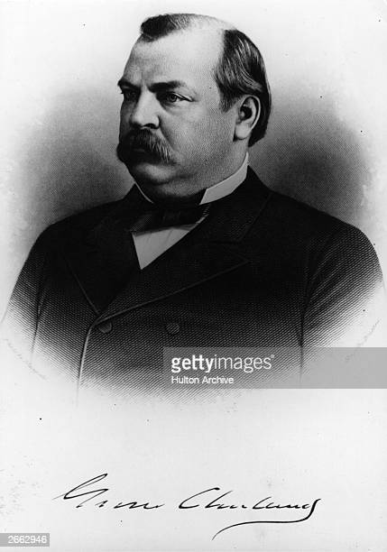 American politician Grover Cleveland the 22nd and 24th US President of the United States of America
