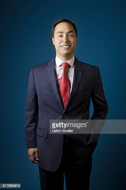 American politician Joaquin Castro is photographed for Texas Monthly Magazine on August 1 2013 in Austin Texas